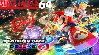 Mario Kart 8 Deluxe with Viewers | Super Stream 64