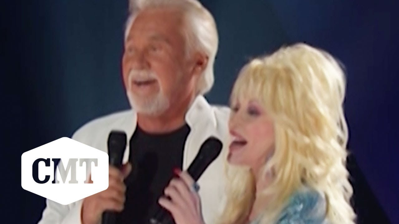 Dolly Parton Kenny Rogers Perform Islands In The Stream Live Cmt 100 Greatest Duets Youtube