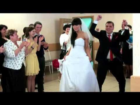Свадьба в Альметьевске вход молодых фото-видеосъёмка Ник Б. +79172575017