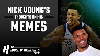 Nick Young Reacts to the Nick Young MEME!