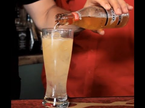 How To Make A Shandy - Beer & Ginger Ale Drink Recipe