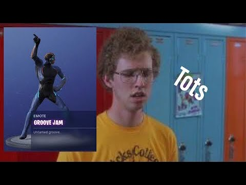 Napoleon Dynamite EMOTE Fortnite