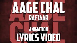 Gambar cover AAGE CHAL LYRICS - RAFTAAR