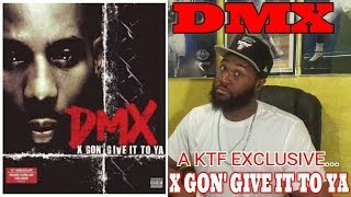 WHY THIS IS 1 OF THE TOP 3 BEST RAP SONGS OF ALL TIME! | DMX - X Gon Give it To Ya -KTF REACTION