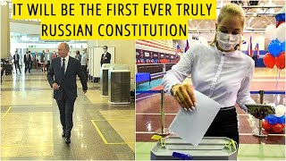 BREAKING! Over 77 Percent Of Russians Back Constitutional Amendments! Nationwide Turnout Was At 65%