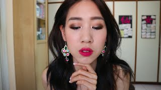 Try On Makeup l Green smokey eye l 綠色煙燻眼妝