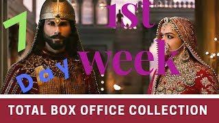 padmavat 1st week collection
