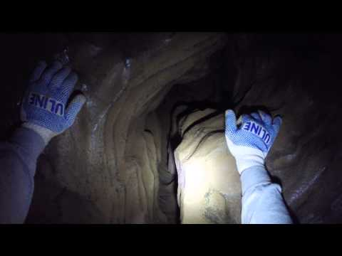 Caving w/ GoPro in Raccoon Mountain, Chattanooga TN