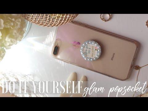 DIY Custom PopSockets | DIY Tuesdays | Kelsley Nicole