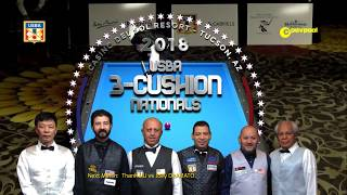 #3 Thanh VU vs Joe DeAMATO / 2018 USBA Three-Cushion Billiard National Championship
