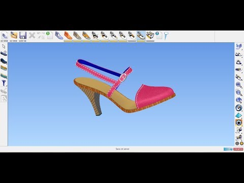 HOW to design Court shoe by Delcam crispin Shoemaker