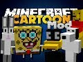 Minecraft Mod - Cartoon Mod - New Mobs, Items and Weapons