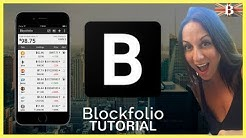 Blockfolio App Tutorial - Track Your Bitcoin & Altcoin Portfolio