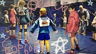 День борьбы. Самбо дети