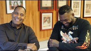"Entrevista Inedita  con David Ortiz ""BIG PAPI"" por Tony Dandrades"