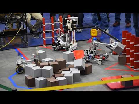 Qualifying Match #2 w/ FTC 13304 - Arkansas Championship (Relic Recovery)