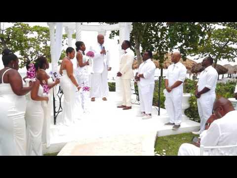 McIntyre Wedding Video (Beaches Negril) All-White Summer Destination Wedding