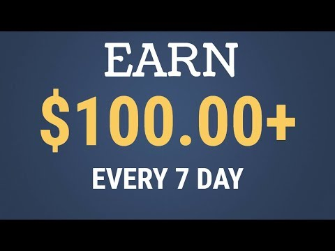 Earn $100 Every 7 Day Right NOW | Free CPA Marketing Secret Video