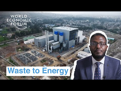 Ethiopia has an innovative power plant that turns waste to e