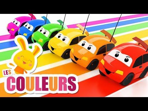 Les couleurs avec les voitures véhicules - Chansons et comptines Titounis