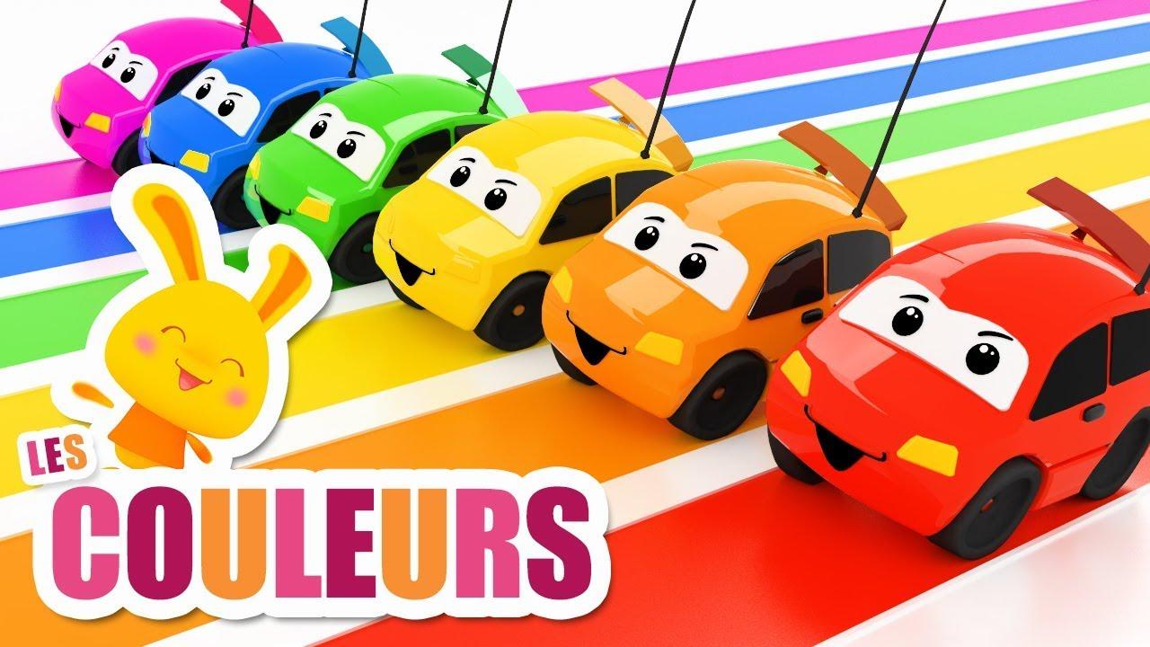 Download Les couleurs avec les voitures véhicules - Chansons et comptines Titounis