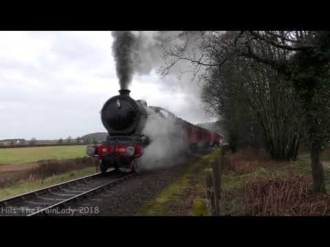 The North Norfolk Railway April 2018