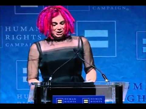 Lana Wachowski speech HRC Visibility Award