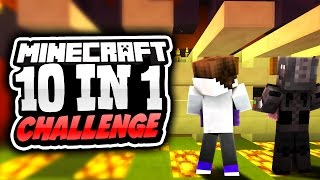 Can I Defeat Grape? | Minecraft 10 In 1 Challenge