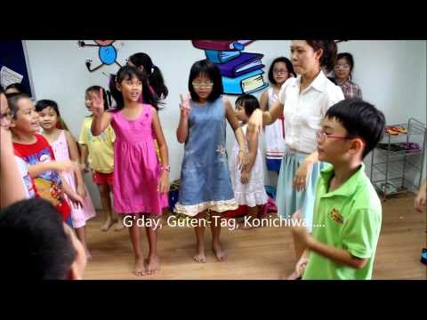 Hello To All The Children In The World - Sing and Dance