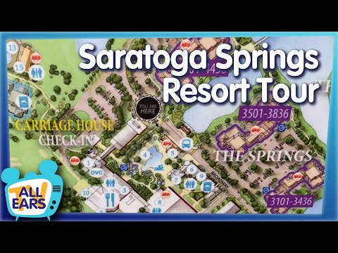 Disney's Saratoga Springs Resort is One of the Most Unique Hotels, Here's Why It Might Be The Best!