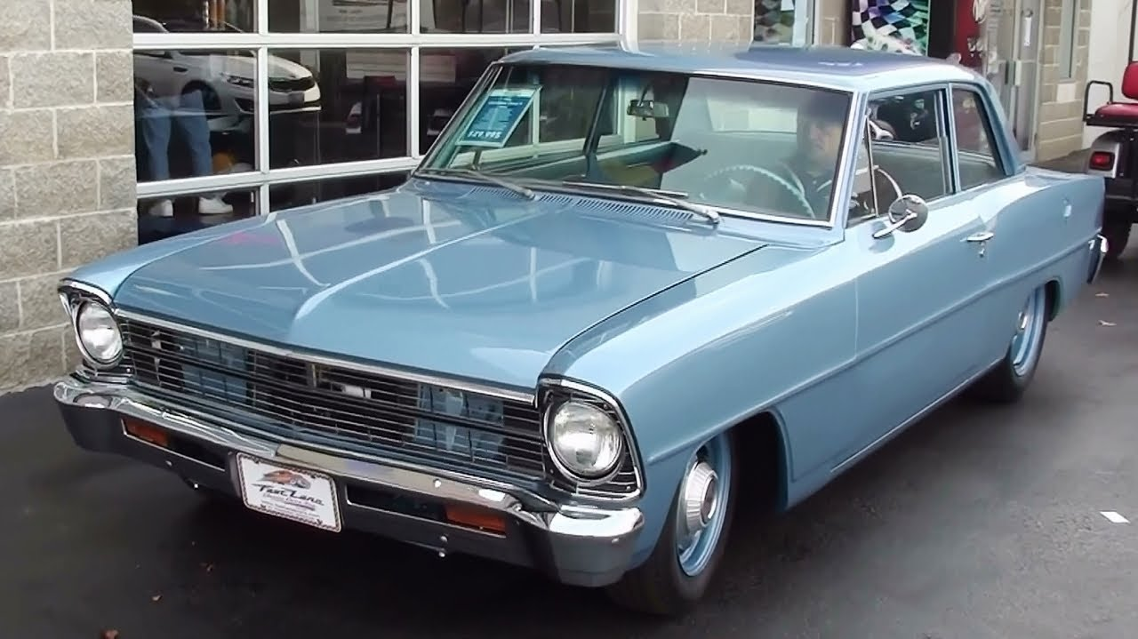 Wicked Sounding 1966 Chevy Ii Nova 468 Big Block V8