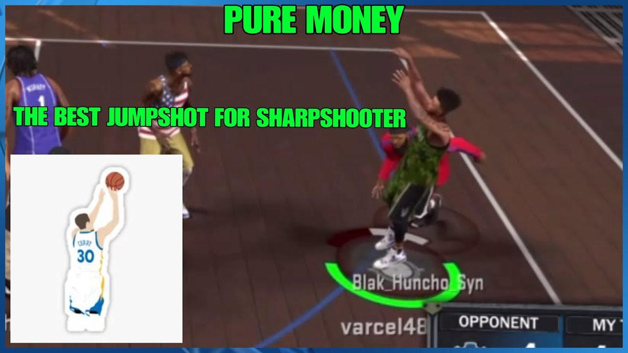 THE BEST NON CUSTOM JUMPSHOT FOR A SHARPSHOOTER