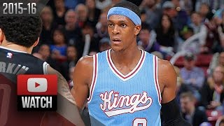 Rajon Rondo Triple-Double Highlights vs Nets (2015.11.13) - 23 Pts, 10 Reb, 14 Ast
