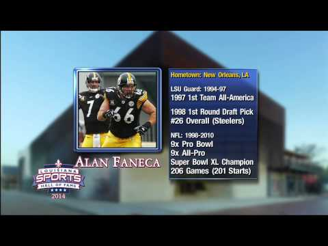 CST Highlights Louisiana Sports Hall of Fame Inductee Alan Faneca
