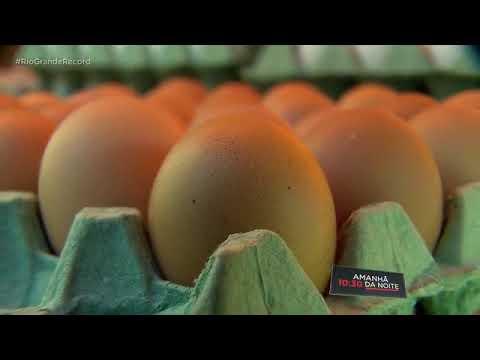 A alta no preço da carne de frango e dos ovos é reflexo da diminuição na produção - Record TV RS