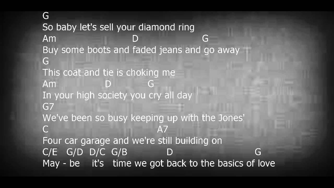 Luckenback Texas Guitar Play Along Chords Lyrics Youtube