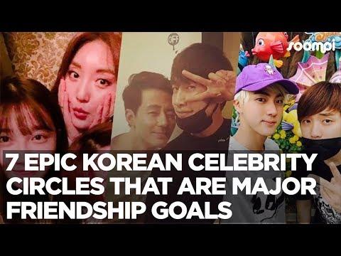 7 Epic Korean Celebrity Circles That Are #GOALs