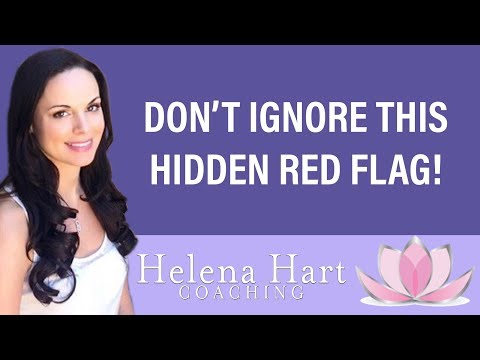 ignoring red flags in a relationship