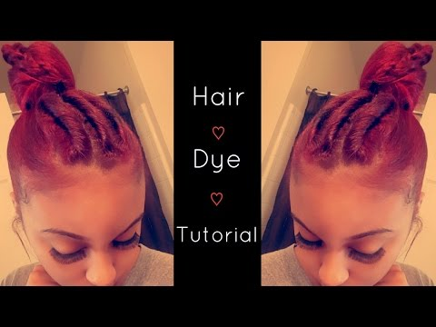 How To Fire Ombr Hair Dye Tutorial  How I Put My Ext  Doovi
