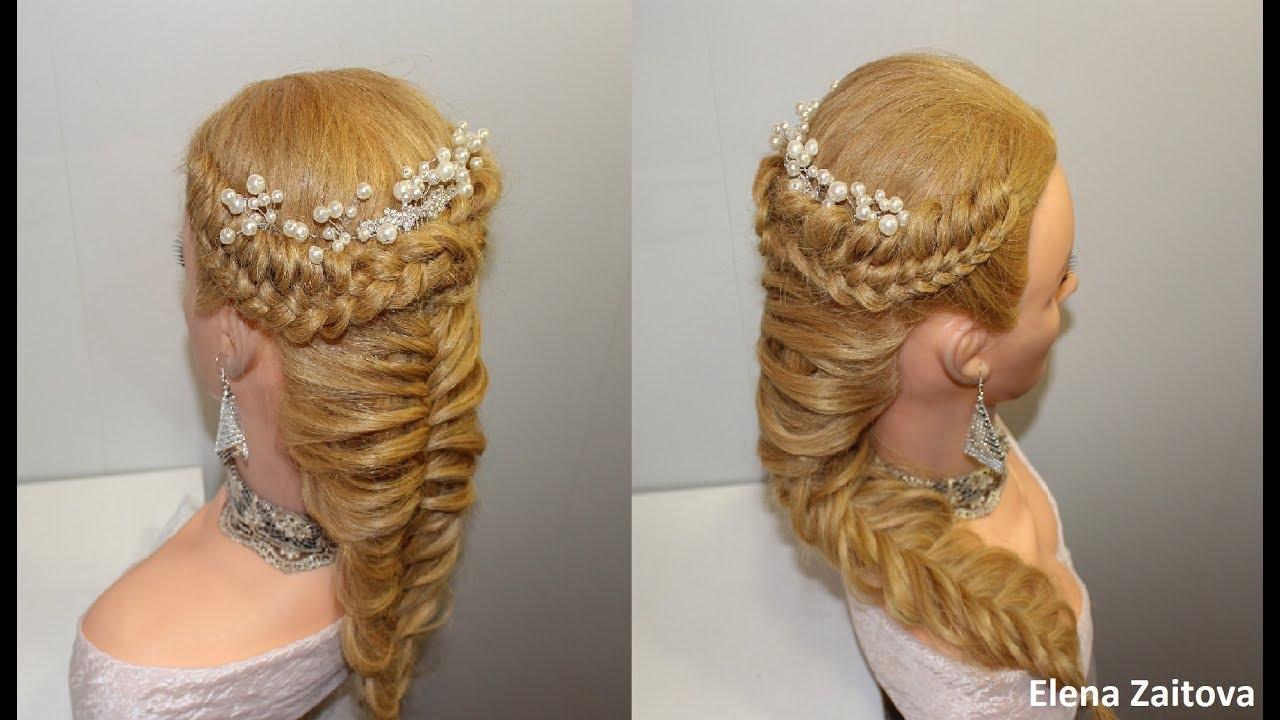 видео датские узлы коса
