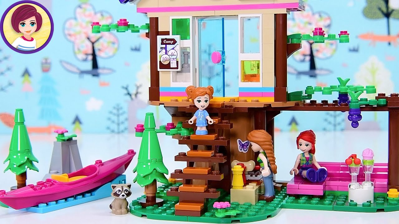 I don't want to alarm you but...... BIN PANDA! Lego Friends Forest House Build & Review