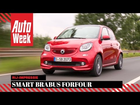 Smart Brabus Forfour - AutoWeek Review