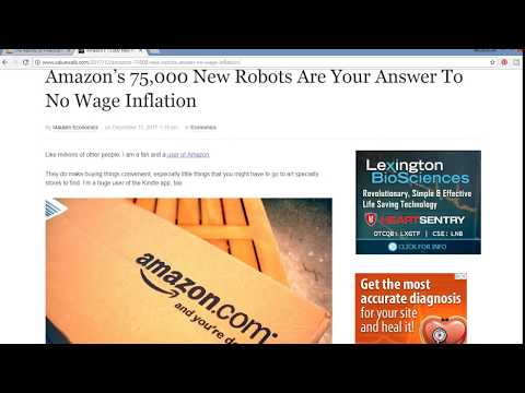 Amazon 75,000 Robots Can You Really Increase Wages and Hour???