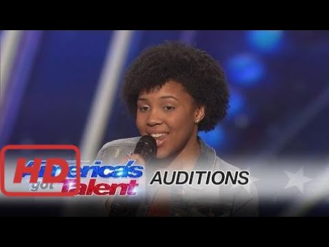 Americas Got Talent Auditions Jayna Brown 14 Year Old Slays With