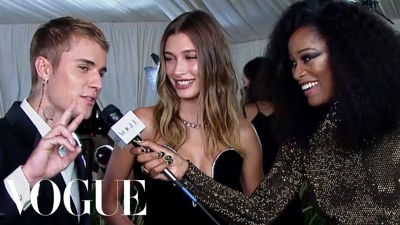 Justin & Hailey Bieber on Dressing Up for the Met   Met Gala 2021 with Keke Palmer   Vogue
