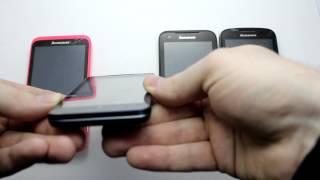 Lenovo S720 vs P770 vsA660 vs A690 видео обзор сравнение телефонов(Краткое сравнение телефонов Lenovo на процессоре MT6577, визуальные отличия и характеристики. Обзоры телефонов...., 2013-02-15T20:12:07.000Z)