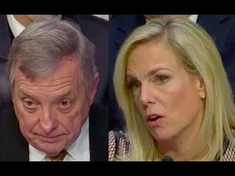 Dick Durbin Questions Kirstjen Nielsen on DACA, Trump, and Immigration
