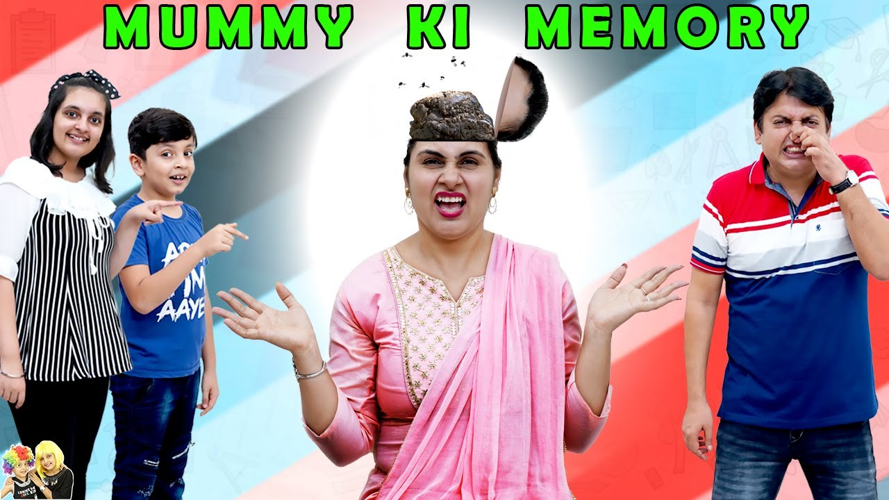 MUMMY KI MEMORY | Family Ka Funny Memory Challenge | Brain Games | Aayu and Pihu Show