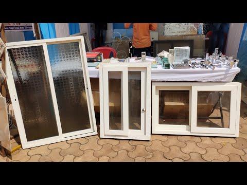 Aluminium PVC glass window price details by shree interiors owner