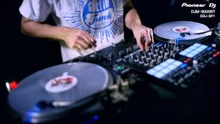 UK DMC Champion JFB on Pioneer DDJ-SP1 and DJM-900SRT Serato DJ Edition
